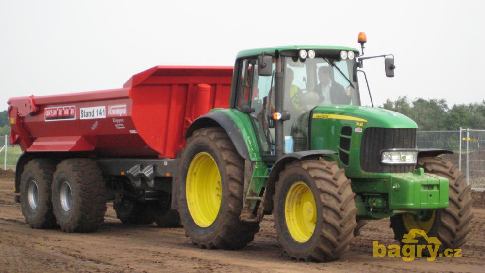 kolov traktor john deere 7430 s demprem krampe kipper holandsk obdoba expa mokr m n zev. Black Bedroom Furniture Sets. Home Design Ideas